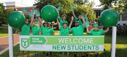 York College of Pennsylvania welcomes new students to campus!