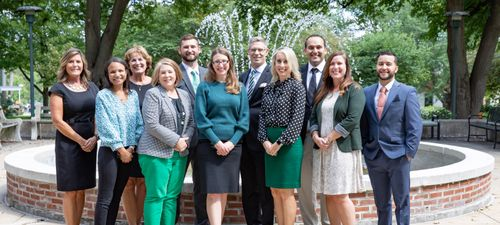 A picture of the Admissions Team