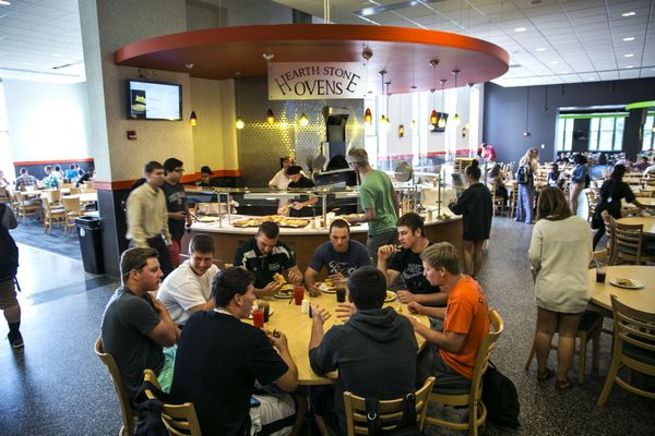 Iosue Student Union is the hub of activity at York College.