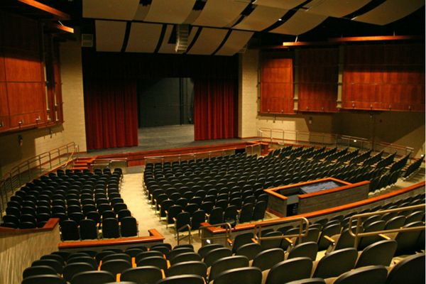 The Waldner Performing Arts Center is the hallmark of the Humanities Center with a 705-seat theatre.